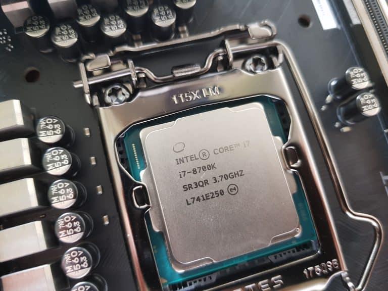 I7 8700k vs I5 8600k