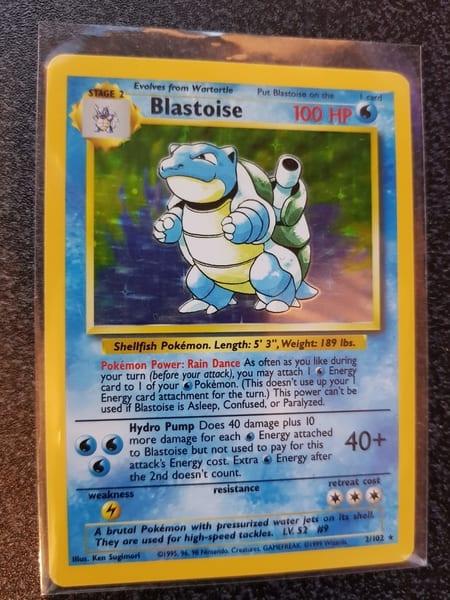 Original Blastoise 2/102