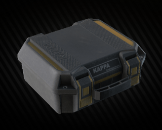 Kappa secure container