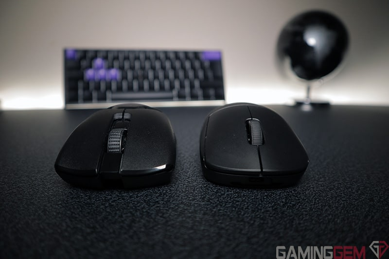 Razer Viper Ultimate vs G Pro Wireless Front View