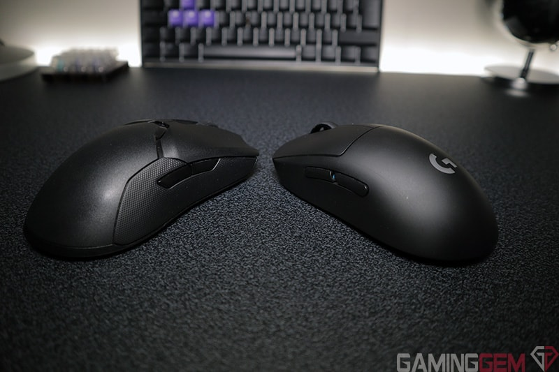 Razer Viper Ultimate vs G Pro Wireless Side by Side