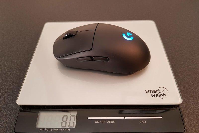 Logitech G Pro Wireless Weight